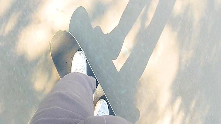 Local Routes: Skateboard Serenity: Shredding Concrete