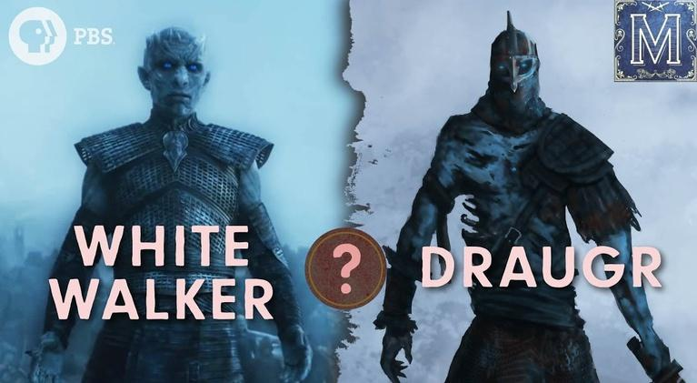Monstrum: Are White Walkers Really Nordic Zombies?