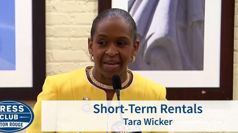 Press Club: East Baton Rouge Councilwoman Tara Wicker will be today's sp