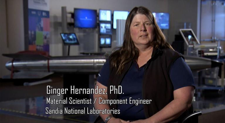 Why did you become a scientist?: Virginia Hernandez