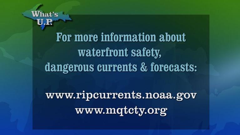 What's U.P.: Swimming & Dangerous Currents