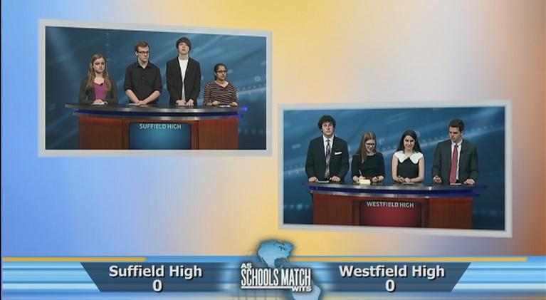 As Schools Match Wits: Quarterfinal #3: Suffield vs. Westfield (May 19, 2018)