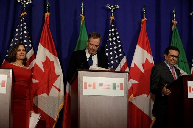 NAFTA renegotiations hit impasse
