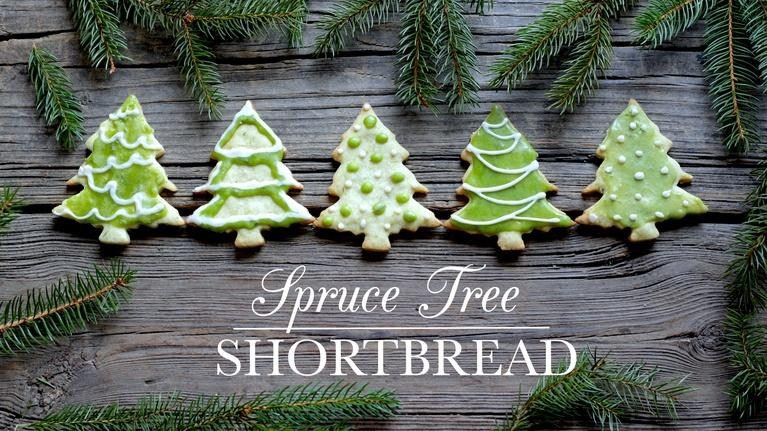 Kitchen Vignettes: Spruce Tree Shortbread