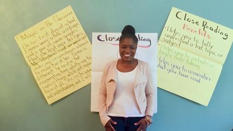 Close Reading -Tanya White - Fifth Grade