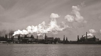 New economic landscape rises where historic steel mill stood