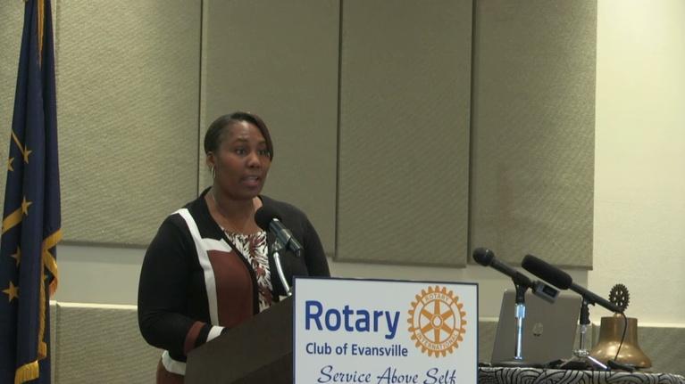 Evansville Rotary Club: Regional Voices: Arveneda McDonald, Joshua Academy