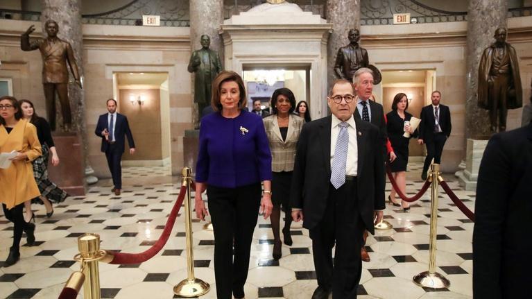 PBS NewsHour: House's articles of impeachment accompany legislative flurry