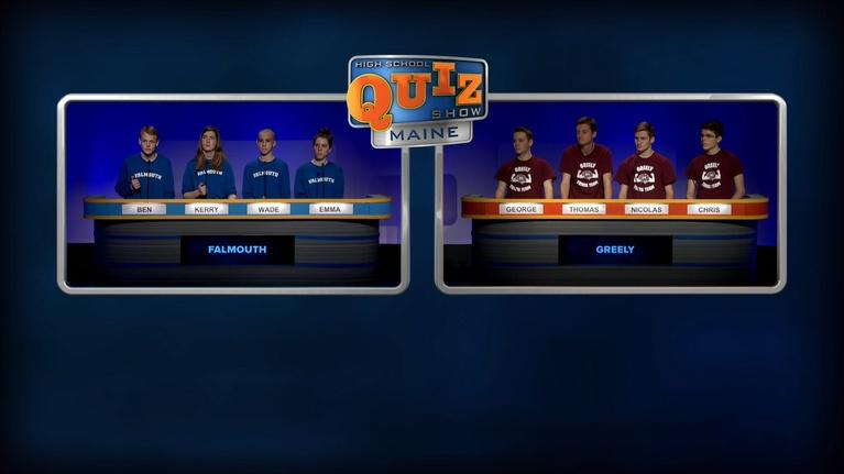 High School Quiz Show: Maine: Greely vs. Falmouth - Final