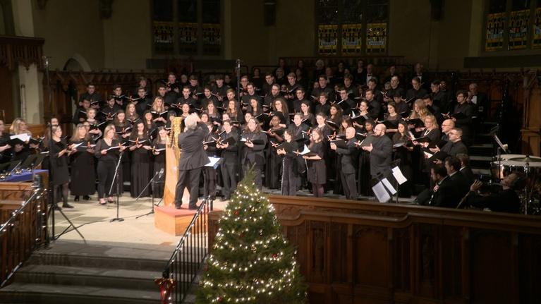 WLVT Specials: Lehigh University Choral Arts Christmas Vespers