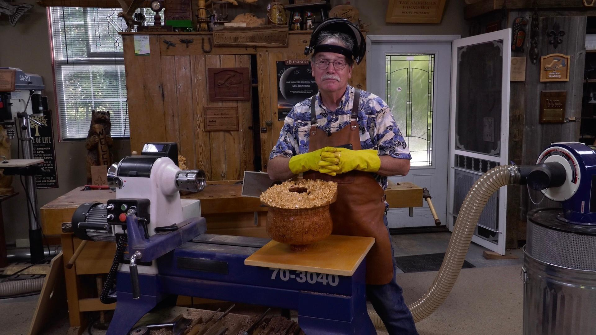 The Burl Bowl/Turning Art with Barry Todd