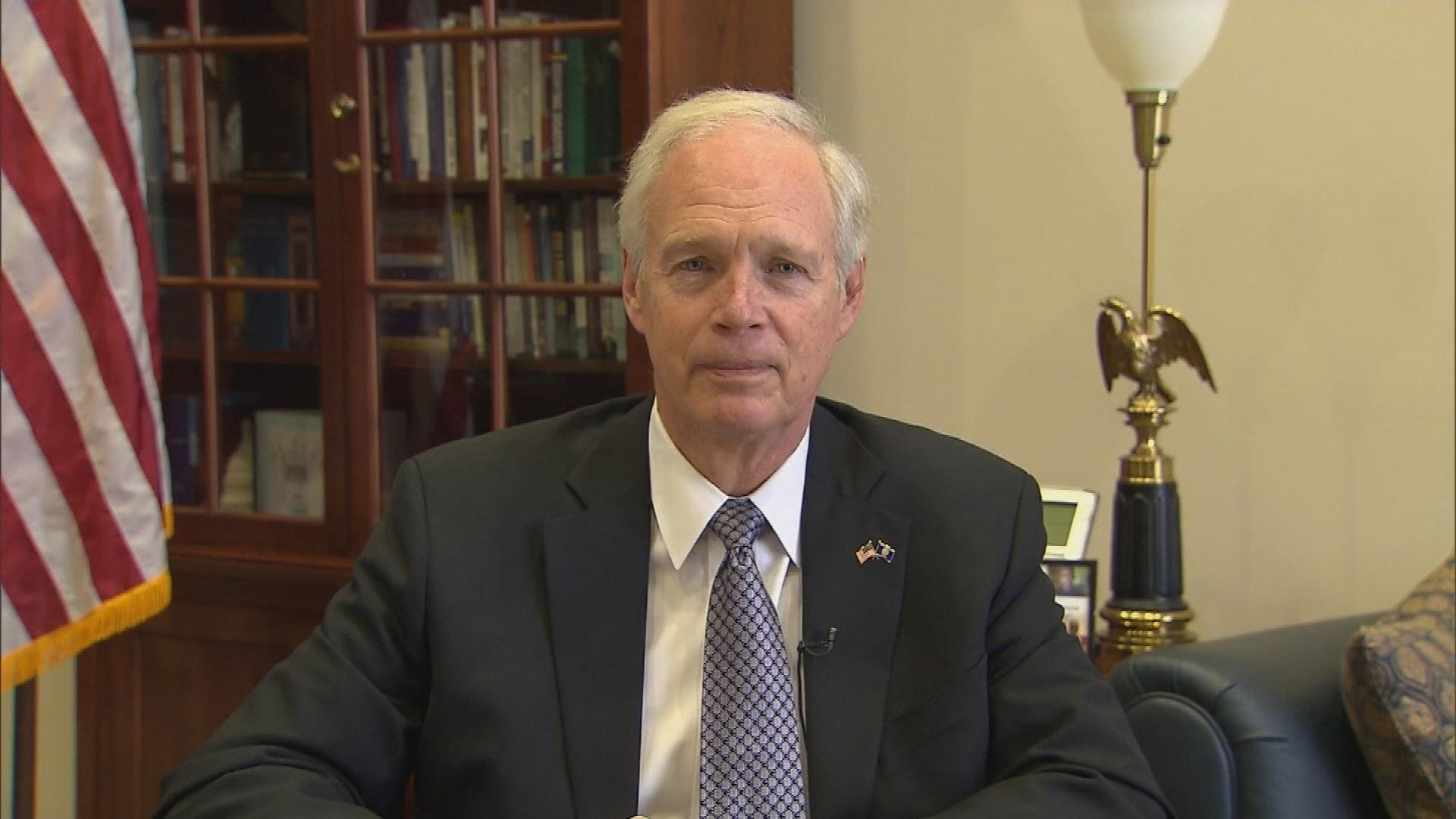 Sen. Ron Johnson on Impeachment Hearings (Full Interview)