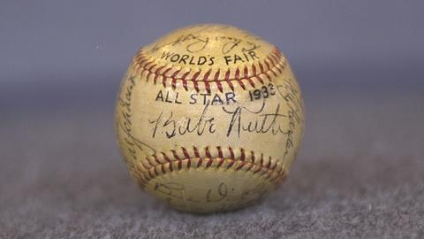 Antiques Roadshow -- S21 Ep20: Appraisal: 1933 All-Star Game Signed Baseball