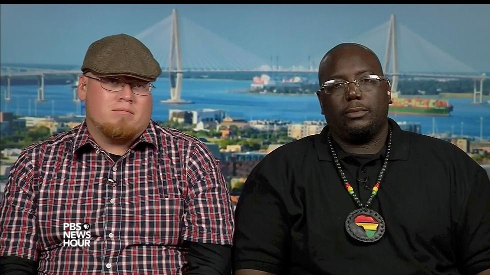 How a secessionist and a black nationalist started talking image