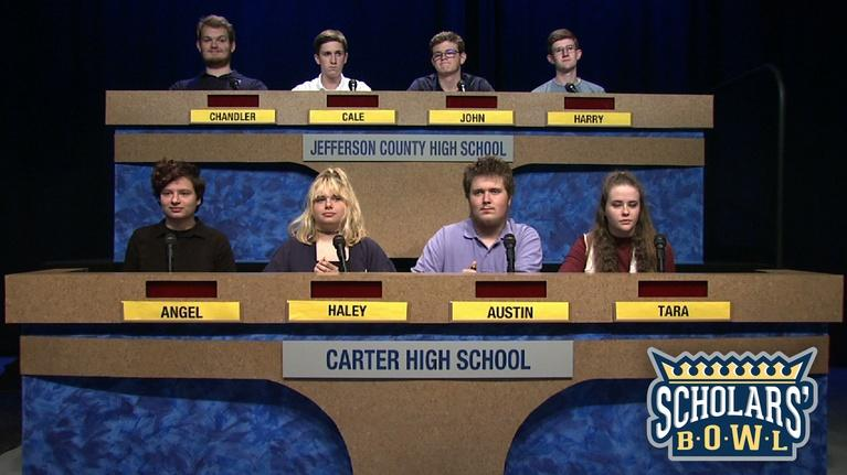 East Tennessee PBS Scholars' Bowl: Carter vs Jefferson County