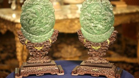 Antiques Roadshow -- Appraisal: Chinese Jade Carvings, ca. 1885