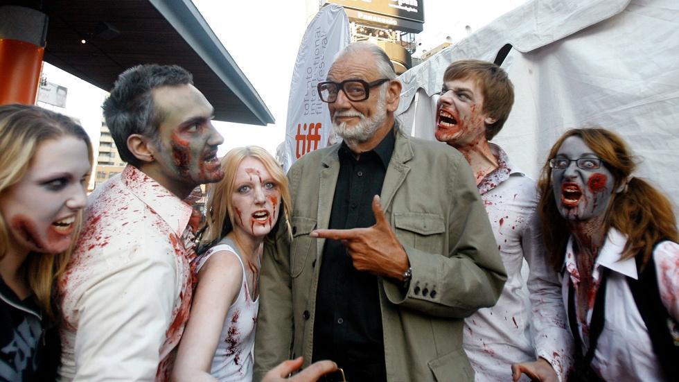 Remembering George Romero, auteur of American zombie movies image