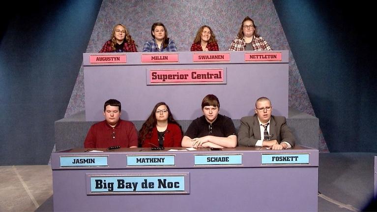 High School Bowl: 4201: Superior Central vs Big Bay de Noc