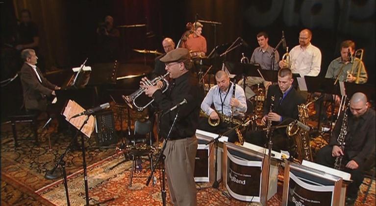 OnStage: Rick Holland / Evan Dobbins Little Big Band