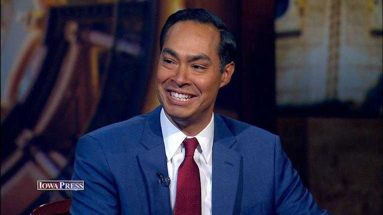 Iowa Press: Democratic candidate Julián Castro
