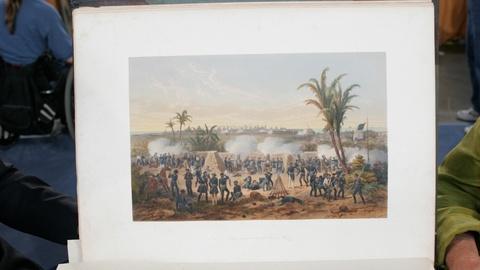 Antiques Roadshow -- Appraisal: 1851 Mexican War Color Plate Book