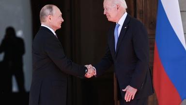 News Wrap: Putin praises Biden as 'professional'