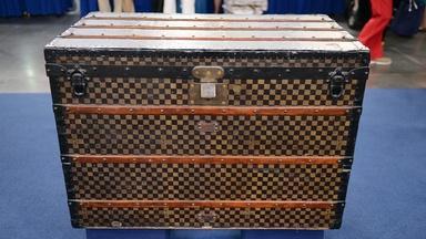 Appraisal: Louis Vuitton Steamer Trunk, ca. 1890