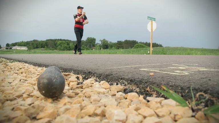 Wisconsin Life: Irish Road Bowling