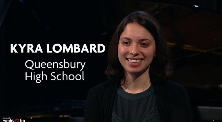 Classical Student Musician of the Month: January 2020   Kyra Lombard