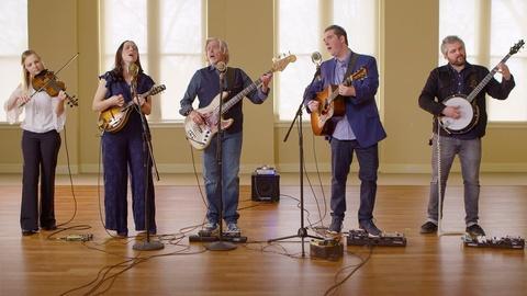 David Holt's State of Music -- Darin and Brooke Aldridge with John Cowan