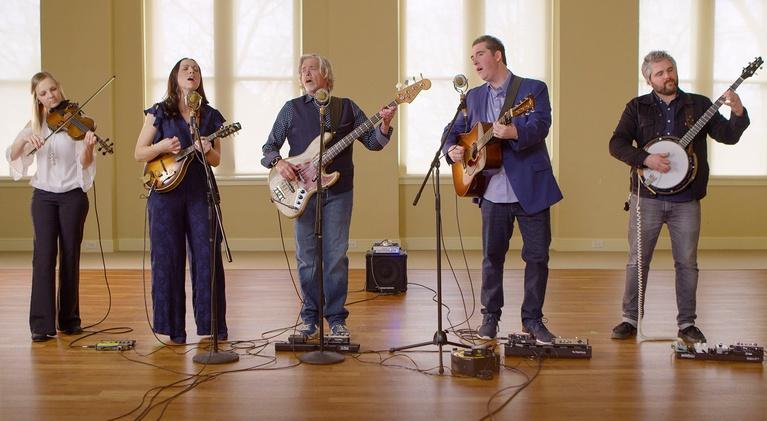 David Holt's State of Music: Darin and Brooke Aldridge with John Cowan
