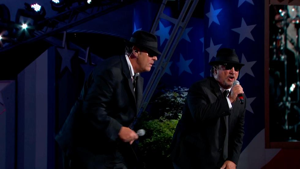 """The Blues Brothers Perform """"Soul Man"""" image"""