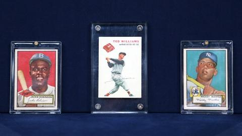 Antiques Roadshow -- Appraisal: 1952 & 1954 Baseball Cards