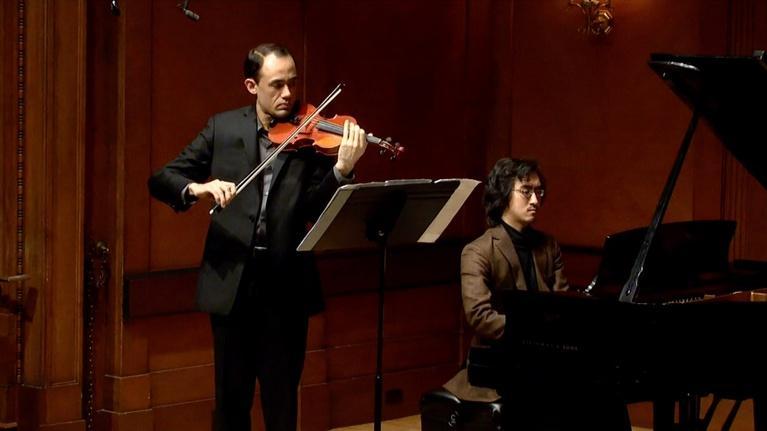 On Stage at Curtis: Violinist Brandon Garbot Graduation Recital