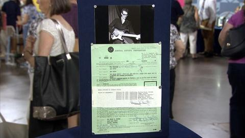 Antiques Roadshow -- S21 Ep18: Appraisal: 1957 Buddy Holly Contract