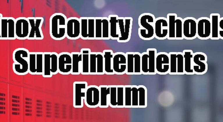 WVUT Special Events: Knox County Superintendent Forum 2019