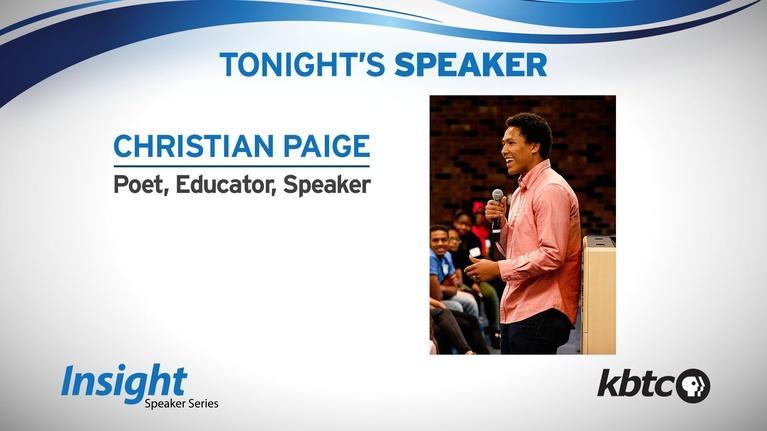 KBTC: Insight Speaker Series Christian Paige