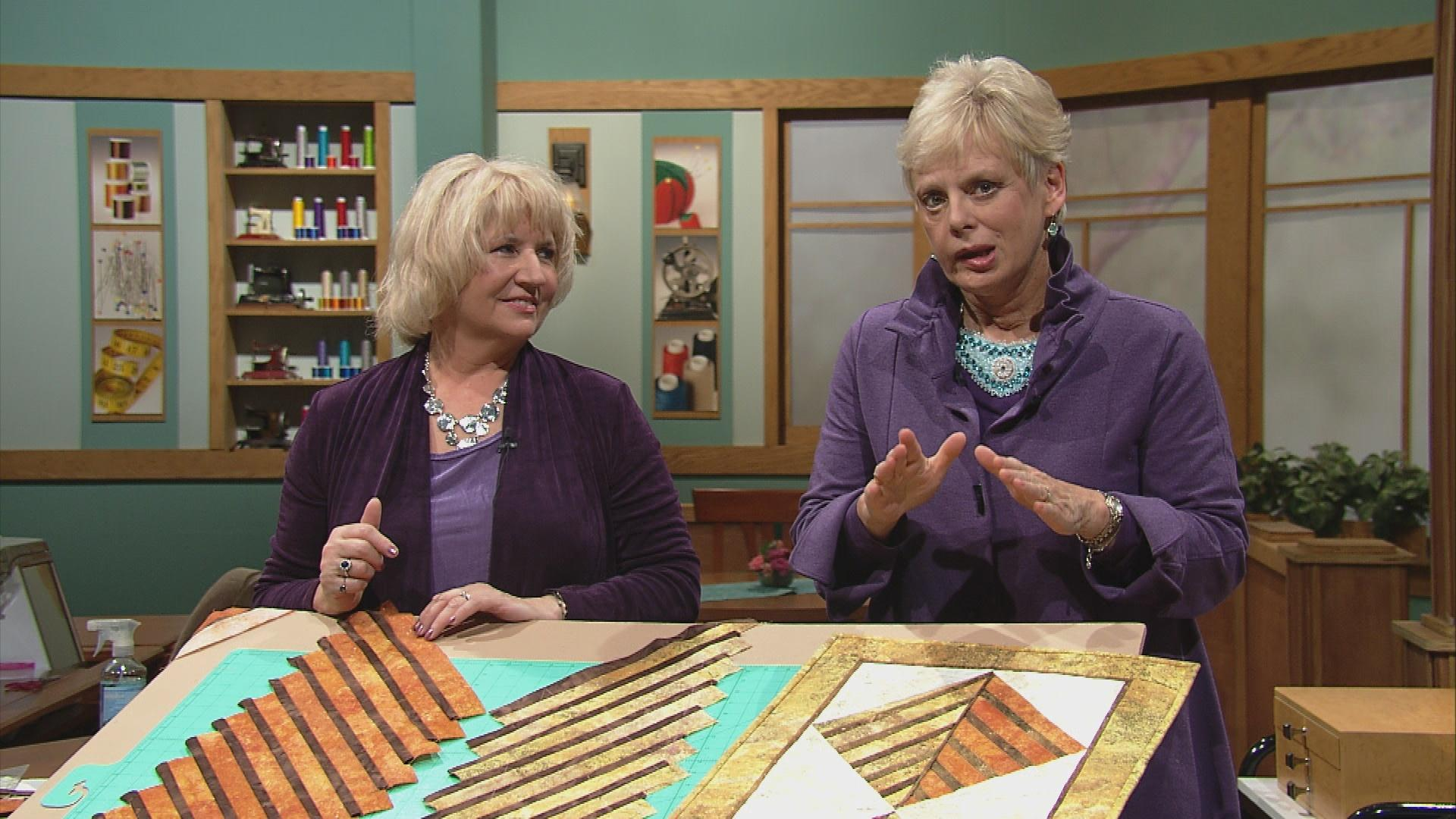 Sewing with nancy pbs sewing with nancy strip by strip patchwork quilts part 2 jeuxipadfo Image collections