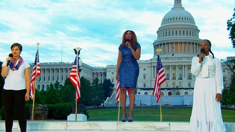 """A Capitol Fourth -- Yolanda Adams Performs """"Put a Little Love in Your Heart"""""""