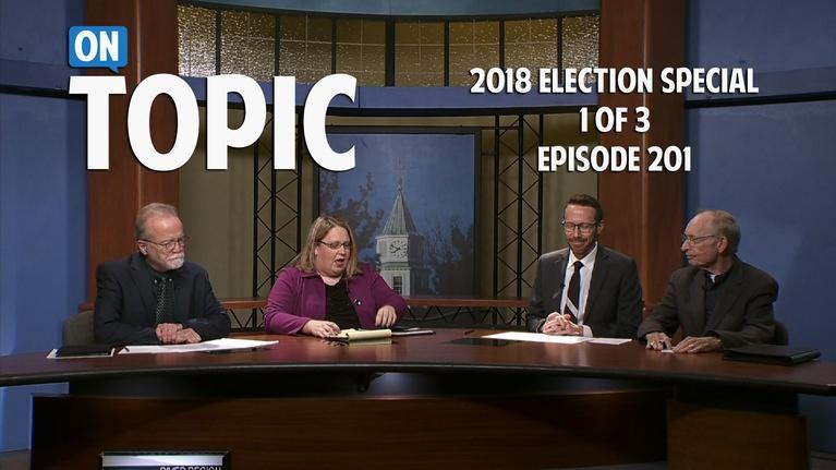 WSIU OnTopic: 2018 Election Special 201