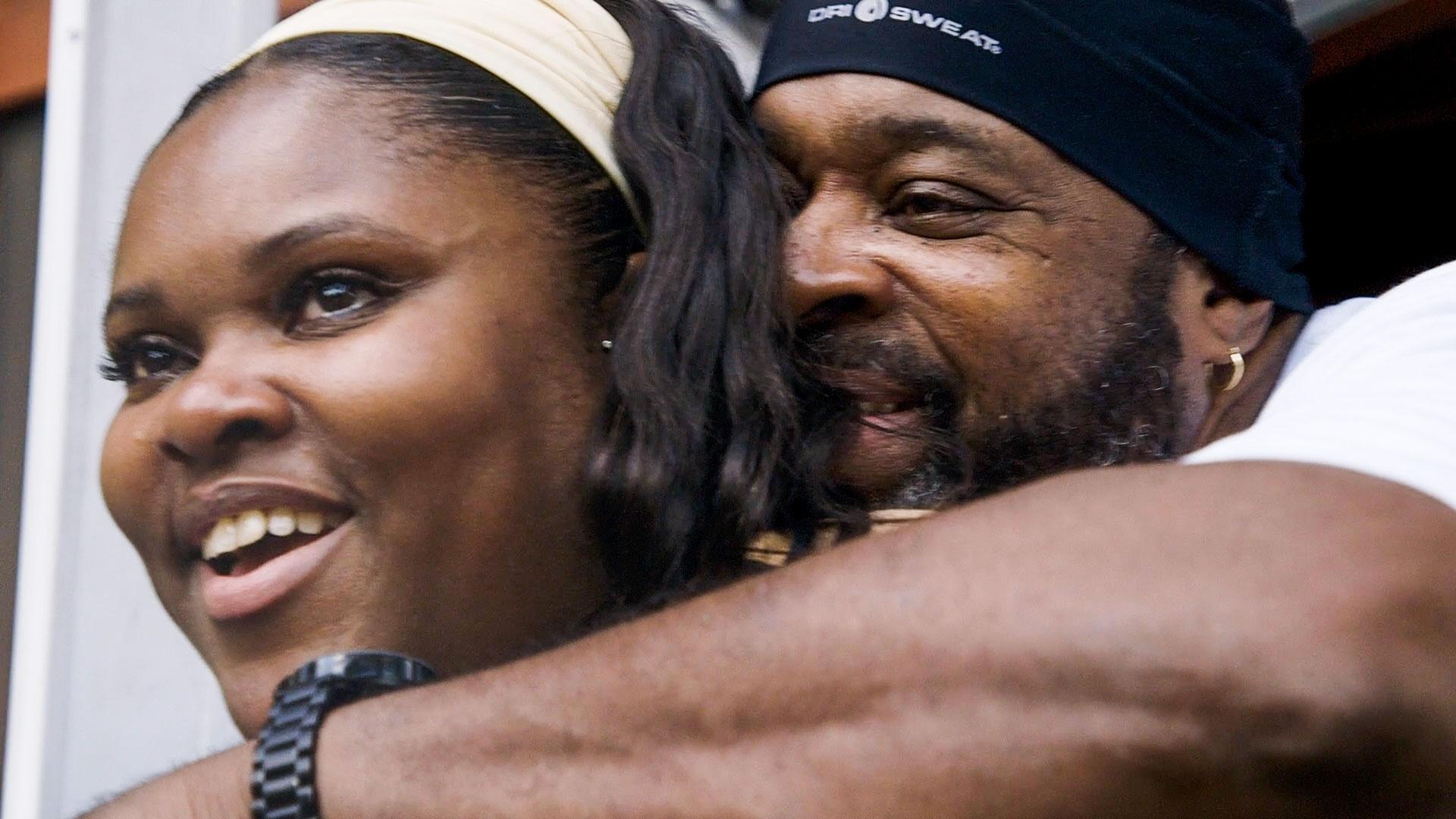 Dameka Edwards-Hart and Ashley Edwards