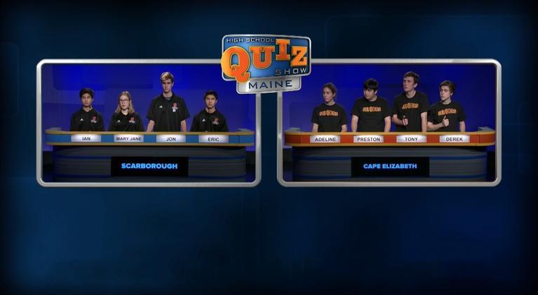 High School Quiz Show: Maine: Scarborough vs. Cape Elizabeth - Episode 211