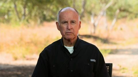Former CA Gov. Jerry Brown on COVID-19 and Protests