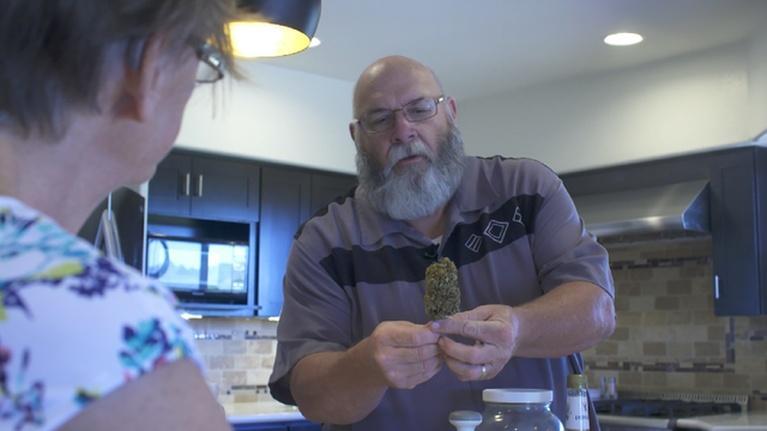 PBS NewsHour: Retired cop guides Arizona seniors as medical cannabis coach