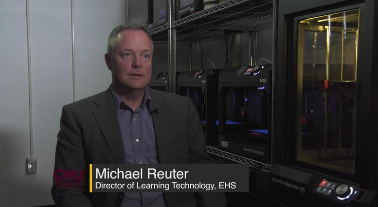 CMU Point of Pride: 3D Printing Lab