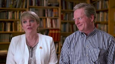 """Little House"" TV stars Alison Arngrim and Dean Butler"