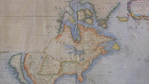 Antiques Roadshow -- S21 Ep24: Appraisal: 1650 Sanson Map of North America