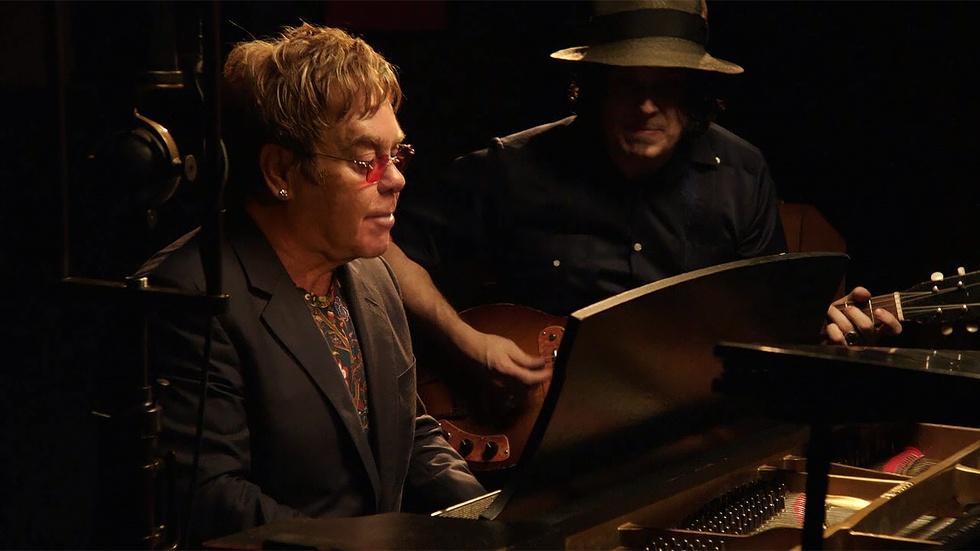 Sessions: Elton John and Jack White image