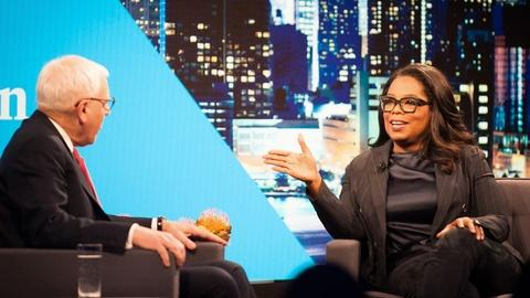 The David Rubenstein Show: Peer to Peer Conversations -- Oprah Winfrey Interview Excerpt