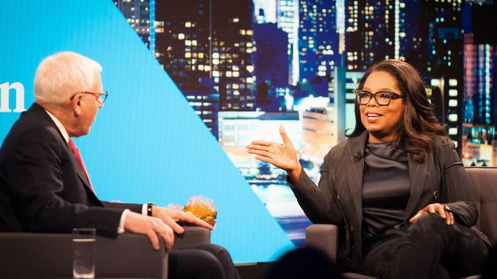 Oprah Winfrey Interview Excerpt image